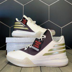 New W/ Box! Adidas BHM Light Em Up 2 Brown White